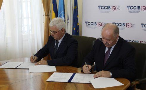 CCIB şi CCI Ruse a semnat un acord de colaborare