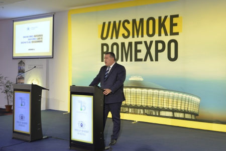 Romexpo devine primul spațiu Unsmoke din România