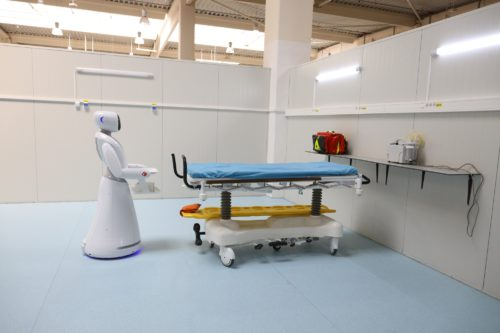 Auchan și Leroy Merlin, au finalizat amenajarea Unității de Suport Medical Bucureștii Noi cu 350 paturi