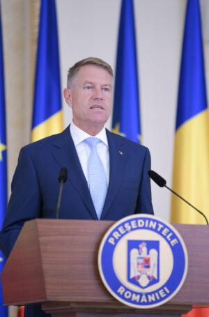 Conferința de presă susținută de Președintele României, domnul Klaus Iohannis