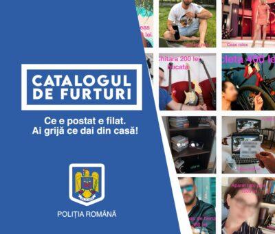 """Poliția Română și Mercury 360 au lansat campania de prevenire a furtului din locuințe """"CATALOGUL DE FURTURI"""""""