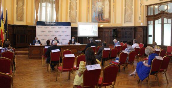 Secretarul de stat Liviu Rogojinaru, în dialog cu mediul de afaceri la Palatul CCIB
