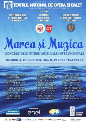 """Administrația Porturilor Maritime SA Constanța sponsorizează spectacolele estivale ale Teatrului Național de Operă și Balet """"Oleg Danovski"""""""