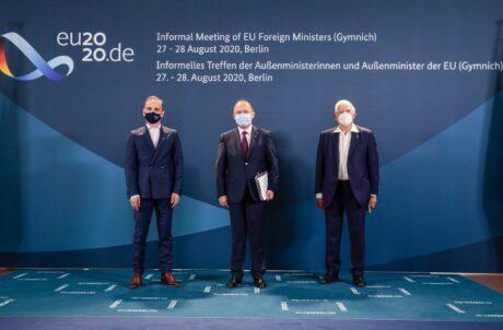Prima zi a participării ministrului Bogdan Aurescu la reuniunea informală a miniștrilor de externe din statele membre ale UE