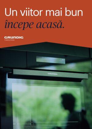 Grundig își prezintă noua imagine de brand, inspirată de un stil de viață responsabil