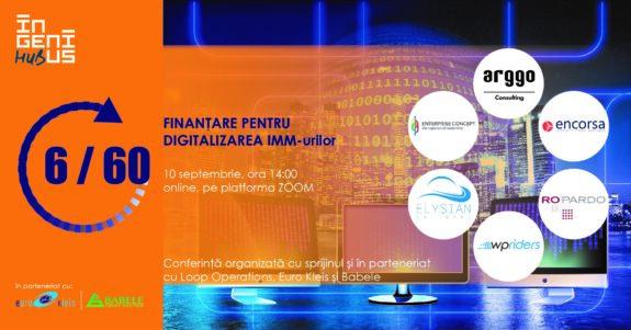 IMM-urile din toate industriile pot accesa cel puțin 100,000 de euro pentru digitalizare