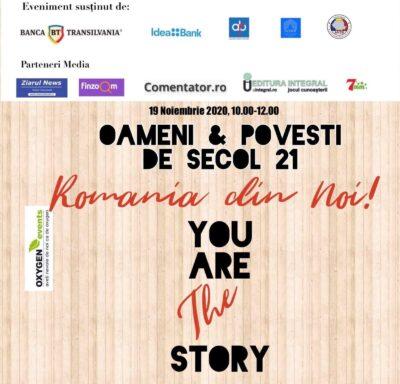 OXYGEN events: OAMENI & POVESTI DE SECOL 21