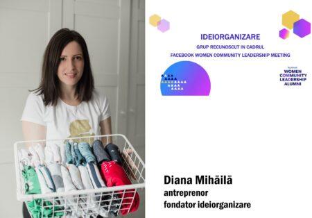 Interviu cu Diana Mihăilă, fondator ideiorganizare, primul Master Professional Organizer din România