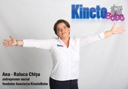 Interviu cu Ana – Raluca Chișu, fondator Asociația KinetoBebe