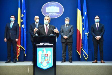 Activitatea MAI sub conducerea ministrului Ion Marcel Vela
