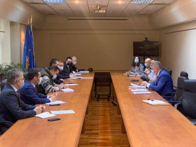 Ședința Comandamentului central de iarnă constituit la nivelul Ministerului Transporturilor, Infrastructurii și Comunicațiilor