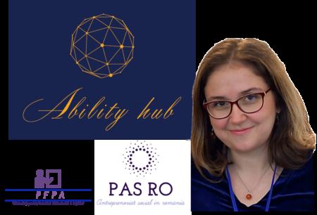 """Interviu cu Dana Nuță, director general AbilityHUB și Președinte al PASRO și PFPA: """"A venit timpul să abordăm în manieră antreprenorială și problemele sociale"""""""