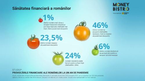Un an de pandemie: românii economisesc mai mult și au devenit mai preocupați de sănătatea lor financiară