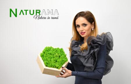 """Interviu cu Tecla Tudor, manager Naturama.ro : """" În vremurile actuale, designul biofilic înseamnă mai mult decât decorarea unui spațiu cu plante, a devenit un stil de viață .."""""""