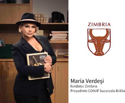 """Interviu cu Maria Verdeși, fondator Zimbria și Președinte al CONAF Sucursala Galați : """"Viitorul stă în mâinile tale!"""""""