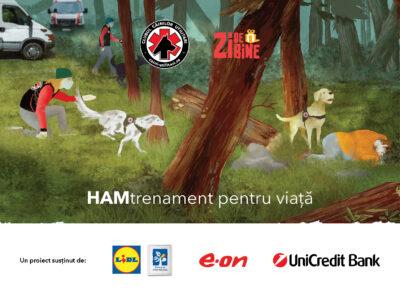 E.ON susține proiectul Asociației Zi de Bine pentru amenajarea unui teren de antrenament pentru câinii salvatori