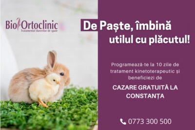 🎁Cadouri de Paște la Bio Ortoclinic!🐰