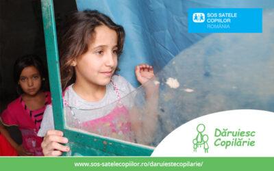 SOS Satele Copiilor România lansează programul de donație lunară Dăruiesc Copilărie pentru susținerea a 700 de copii vulnerabili