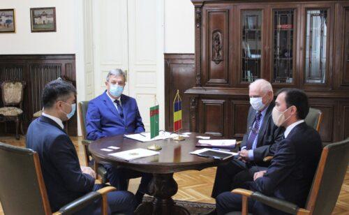 La CCIB, eveniment dedicat promovării oportunităţilor de cooperare între companiile din România şi Turkmenistan în sectorul energetic