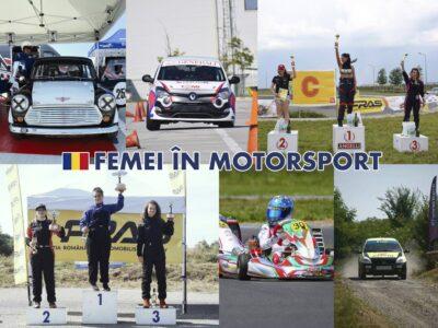 Femei în Motorsport la start: 29 piloți în weekendul 10-11 iulie
