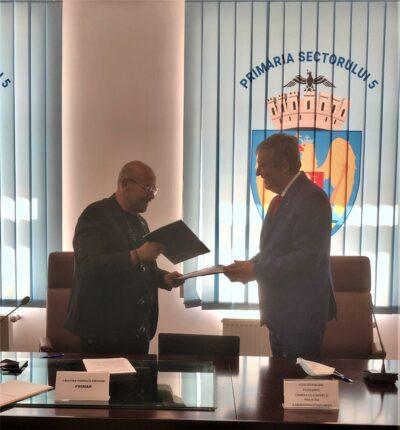Protocol de colaborare între Camera bucureșteană și Primăria Sectorului 5