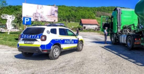 POLITIA ROMANA: ACȚIUNEA TRUCK&BUS