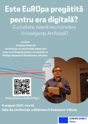 Este EuROpa pregătită pentru era digitală? Curiozitate, teamă sau încredere în Inteligența Artificială?