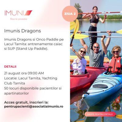 Caravana Imunis dedicată pacienților cu cancer vine la Cluj – Napocaîn perioada 20 – 21 august 2021