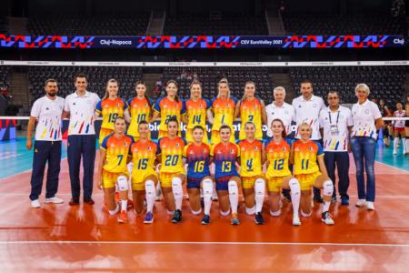 România joacă sâmbătă, la Cluj-Napoca, al doilea meci de la Campionatul European de volei