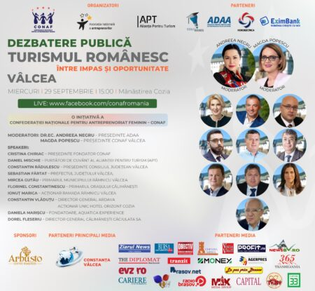 TURISMUL ROMÂNESC: ÎNTRE IMPAS ȘI OPORTUNITATE Vâlcea – locul 7 în topul atracțiilor turistice românești